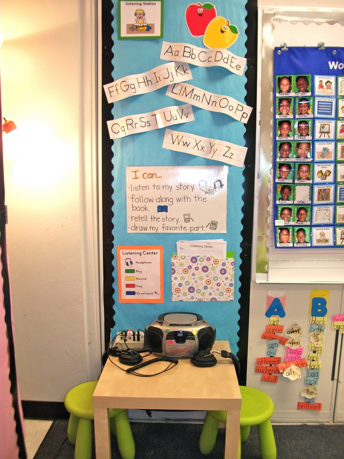 How To Organize Listening Stations Classroom Set Up Ideas