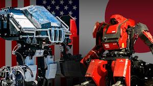 外国人「日本vsアメリカの巨大ロボット対決がもうすぐ始まるぞ! 」(海外の反応)