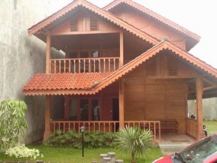 20 contoh rumah kayu | contoh rumah minimalis