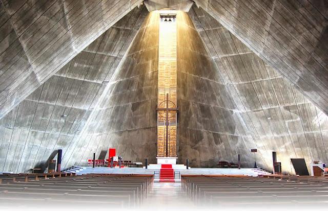 日本の建築を世界レベルに。建築家、世界の丹下健三(Architecture) カテドラル大聖堂