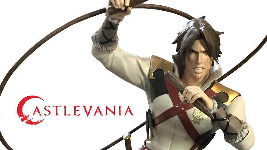 netflix castlevania trevor belmont action figure announced