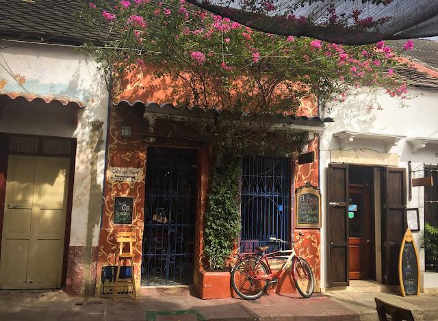 Cafeneaua noastra preferata din Getsemani; Cartagena, Columbia