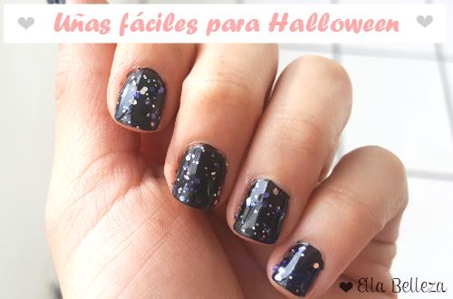 Uñas fáciles para Halloween