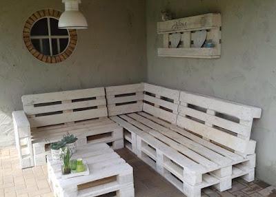 diy pallet outdoor furniture treat wooden