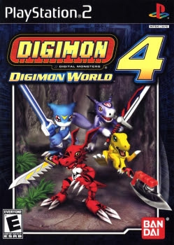 Digimon World 4 PS2 GAME ISO