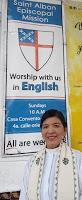 The Reverend Neli Miranda, Priest in Charge, English or Español