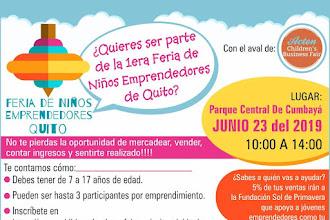 Feria de Niños Emprendedores en Quito
