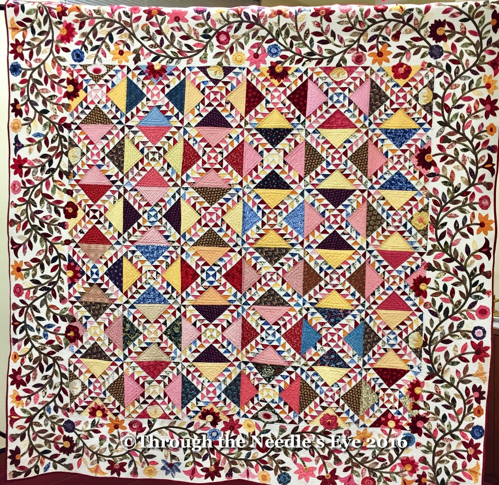 Telling Stories Through the Needle's Eye: Rita's Roses : lady of the lake quilts - Adamdwight.com