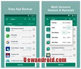 App Backup Restore Transfer Android Apk