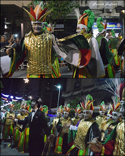 Desfile Inaugural del Carnaval. Uruguay. 2017 Murga Araca la Cana