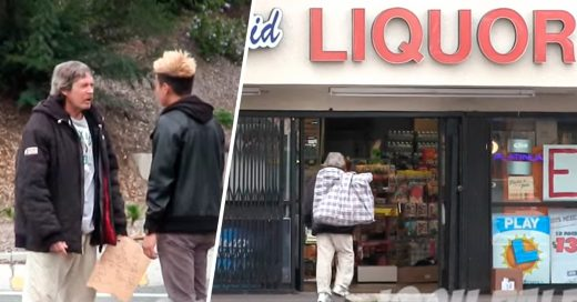 ¿Qué hacen las personas de la calle cuando les das dinero?