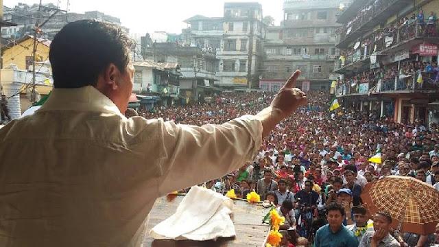 Gurung pins hopes on Gorkhaland, BJP on Gurung