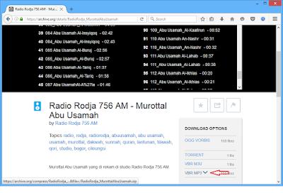 Download MP3 Al-Quran Ust Abu Usamah