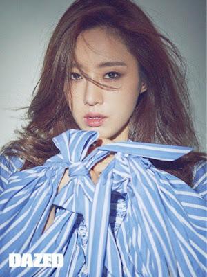 Eunjung T-ara Dazed & Confused July 2017