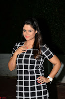 Shilpa Chakravarthy in Dark blue short tight dress At Srivalli Movie Pre Release Event ~  Exclusive Celebrities Galleries 019.JPG