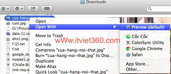 Cách thay đổi kích thước hình ảnh trong Mac OS (Macbook)