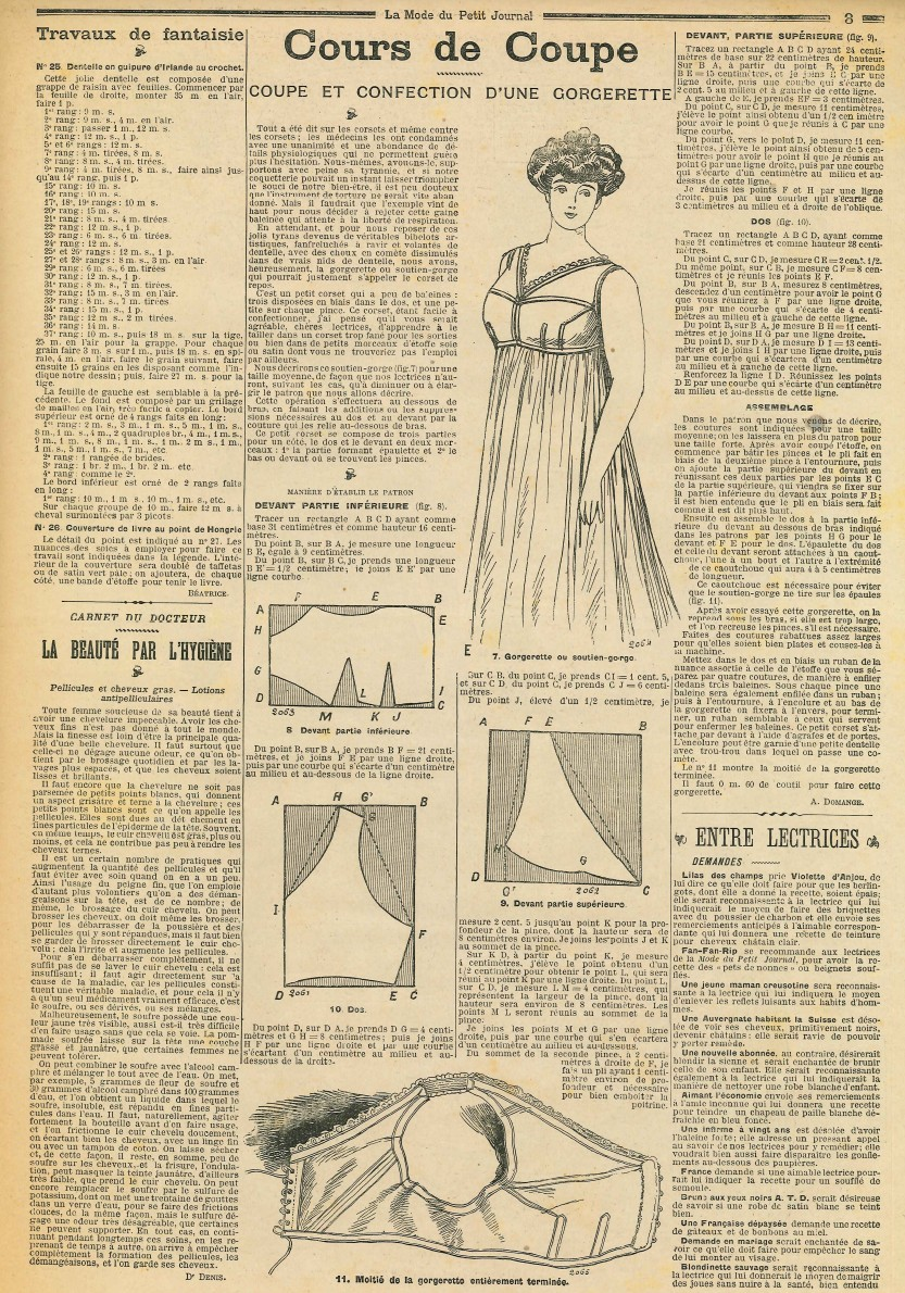 Le blog de callisto la mode du petit journal 30 avril 1905 - Le journal de la mode ...