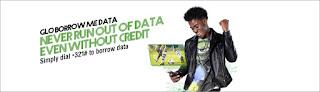 Glo NG Borrow Me Data FAQs