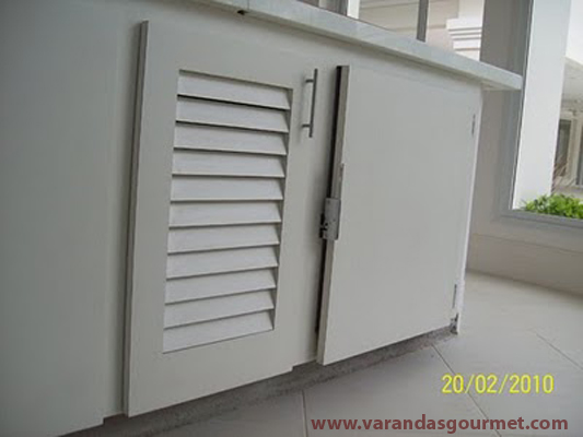 Balcão refrigerado 1 porta em fórmica texturizada