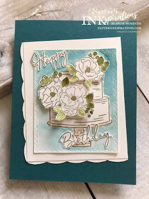 By Angie McKenzie for JOSTTT015 Design Team Inspirations; Click READ or VISIT to go to my blog for details! Featuring the Happy Birthday to You Stamp Set from Sale-A-Bration and Magnolia Blooms from the 2019 Beginner Stampers Brochure; #cardchallenges #handmadecards #josdesignteaminspiration #josttt015 #marchcardchallenge #magnolias #birthdaycake #birthdaycard #happybirthdaytoyoustampset #magnoliabloomsstampset #naturesthoughtsdies #braidedborderpunch #stampinup #coordinationproductrelease  #cardtechniques