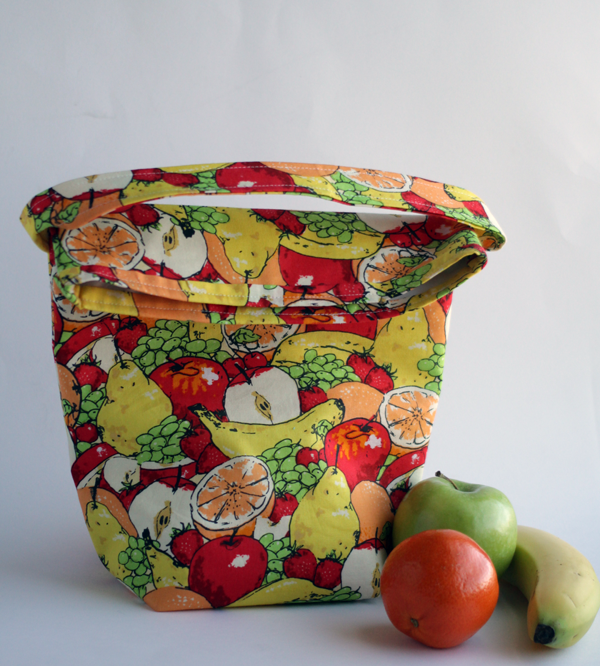 how to sew your own insulated lunch sack
