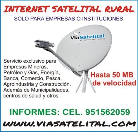 Servicio de Internet Satelital