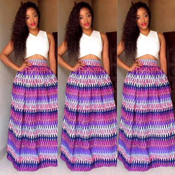 Ankara-Pleated-Skirts-with-crop-tops