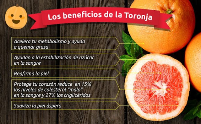 BENEFICIOS TORONJA - CITRICOS