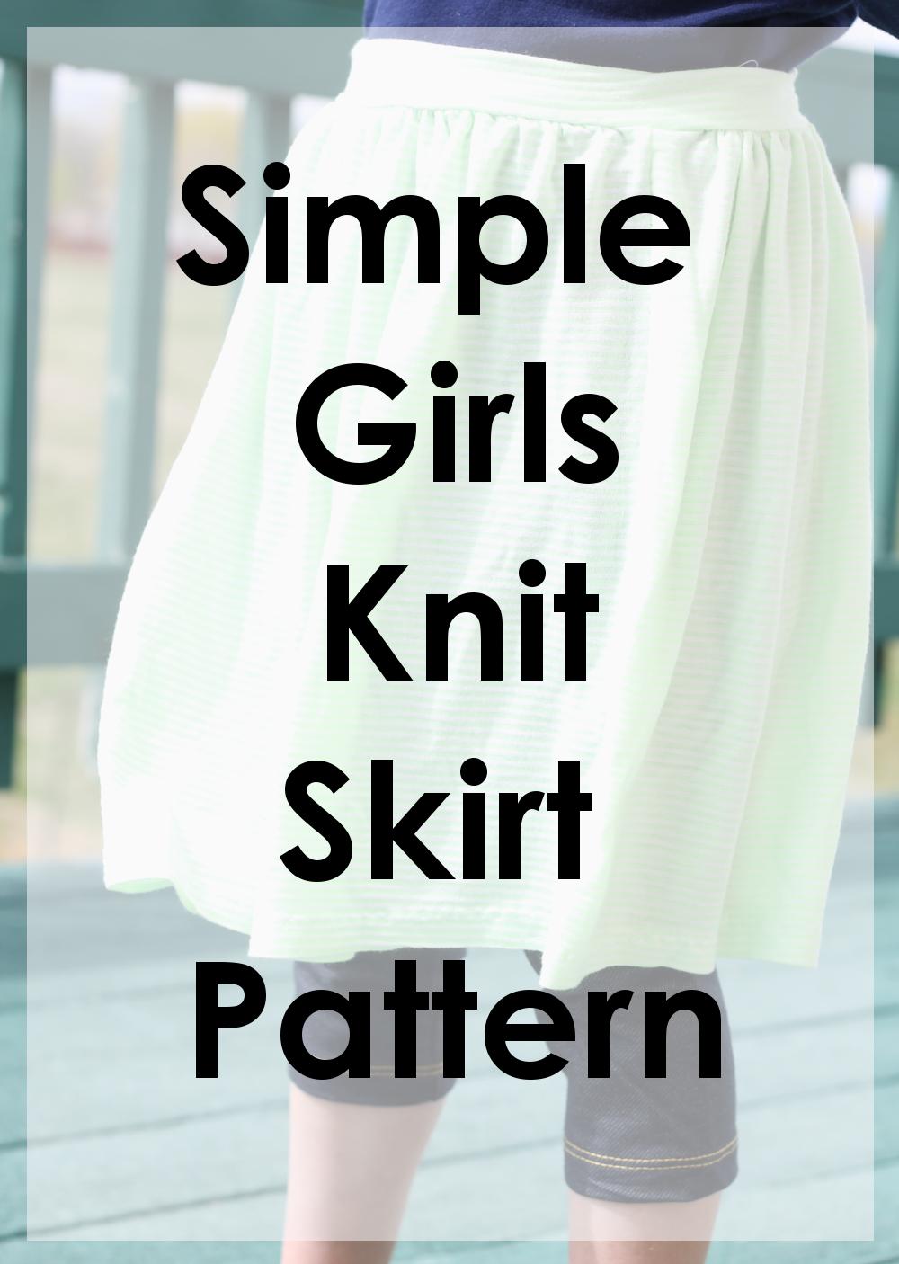 Girls Simple Skirt Free Tutorial Gyct Designs