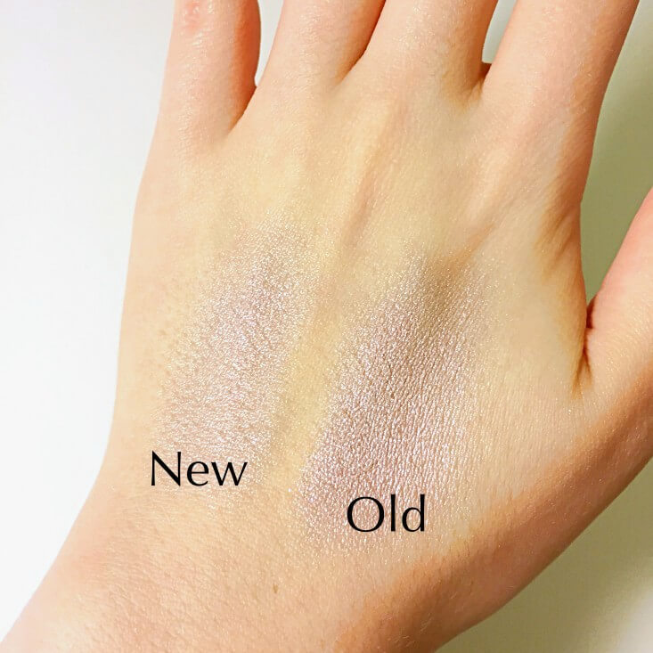 wet n wild megaglo Highlighting Powder If You Got It, Haunt It vs Purple Ashes swatches