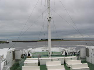 Ferry from Wood Islands to Caribou.