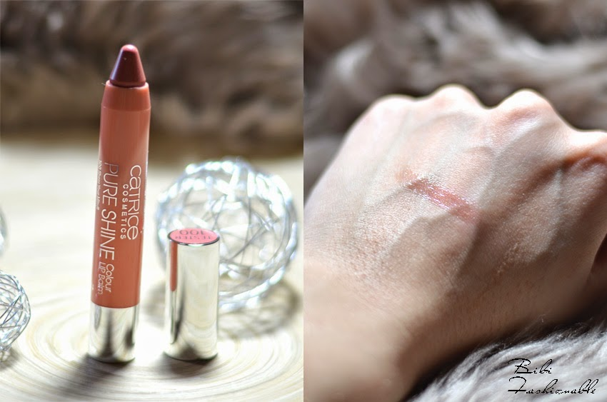 Catrice Pure Shine Colour Lip Balm offen Swatch