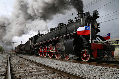 Tourist Trains in Chile.