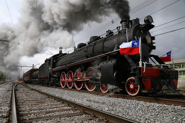 Tourist Trains in Chile.