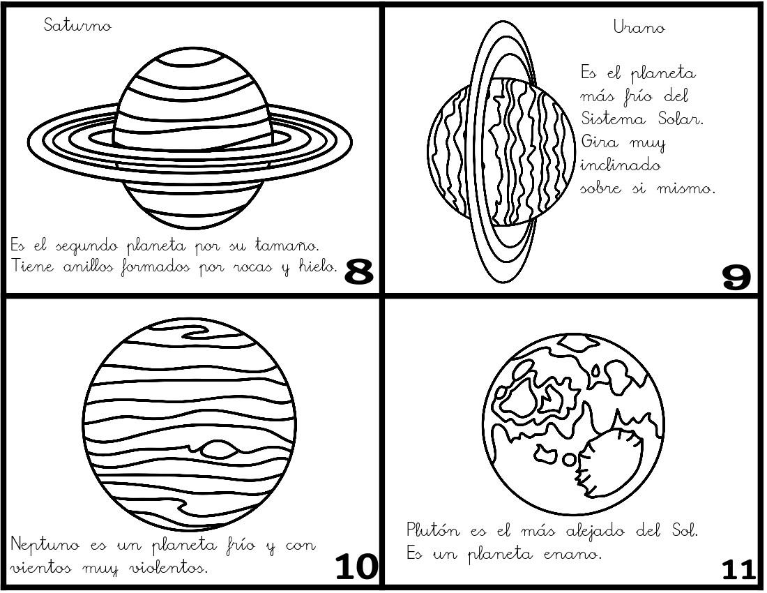Qué puedo hacer hoy?: Minilibro: Los planetas del Sistema Solar