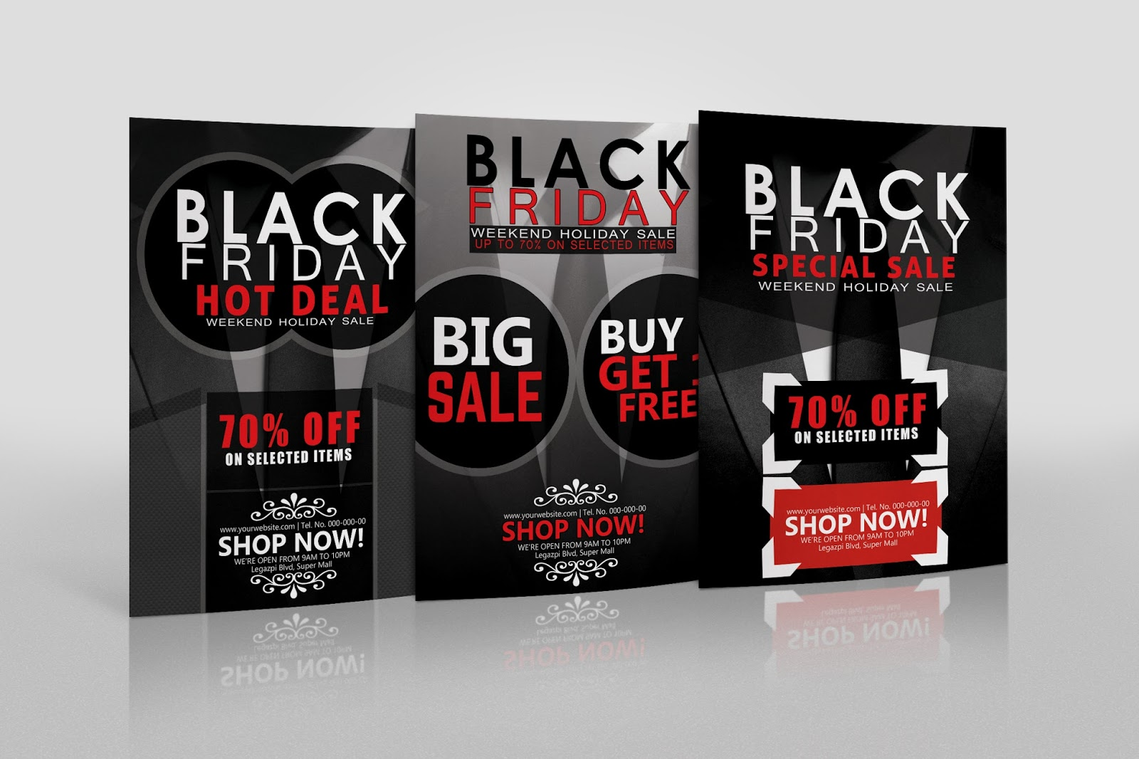 Free Black Friday Mall Flyer