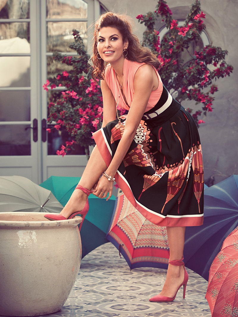 New York and Company Spring/Summer 2017 Campaign featuring Eva Mendes