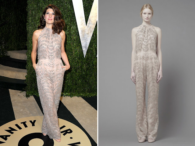 Marisa Tomei in Valentino 2013 Vanity Fair Oscar Party