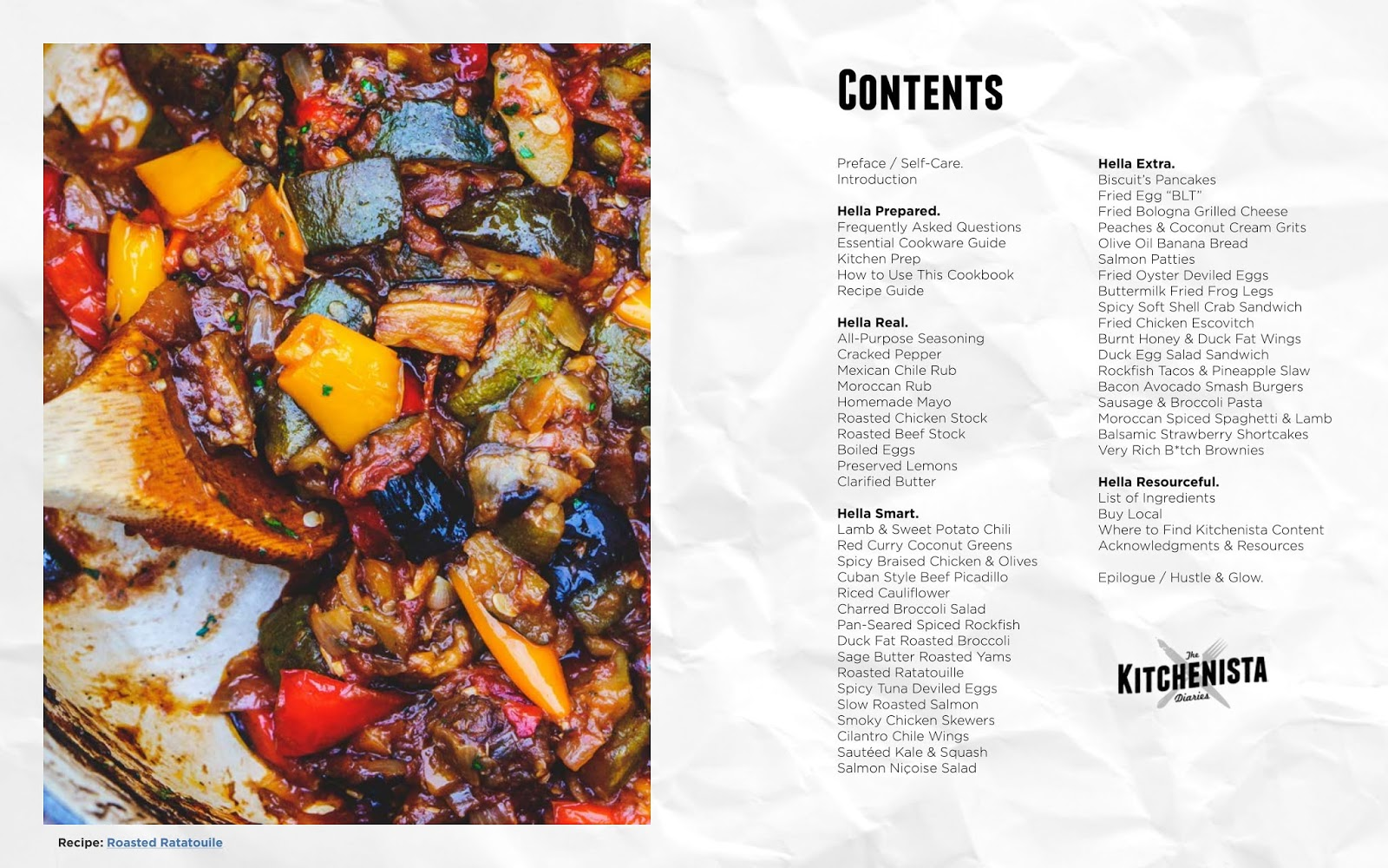 new cookbook the kitchenista diaries volume 1 the kitchenista