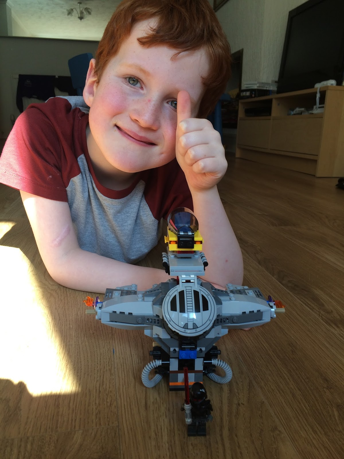 Ieuan Hobbis' Latest Lego Creation