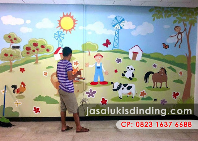 Lukisan Dinding Kamar Anak Laki