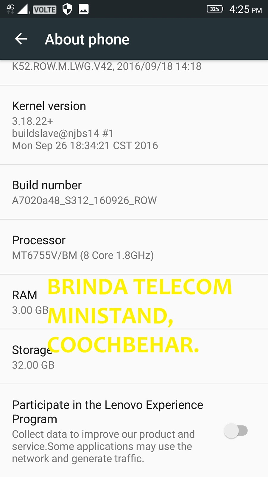 BRINDA TELECOM: LENOVO A7020a48 VIVE K5 NOTE FLASH FILE 32GB RAM