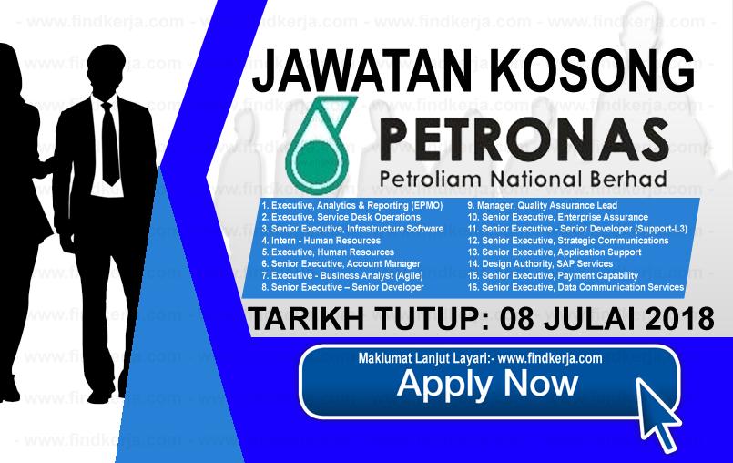 Jawatan Kerja Kosong PETRONAS ICT Sdn Bhd logo www.findkerja.com www.ohjob.info kuala lumpur julai 2018