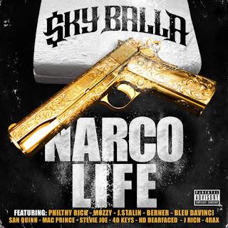 Sky Balla - Narco Life (2016) - Album Download, Itunes Cover, Official Cover, Album CD Cover Art, Tracklist