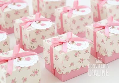 lembrança festa boneca floral provençal