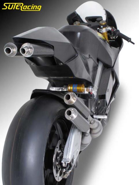 Suter MMX với động cơ 2 thì 500cc 200 mã lực