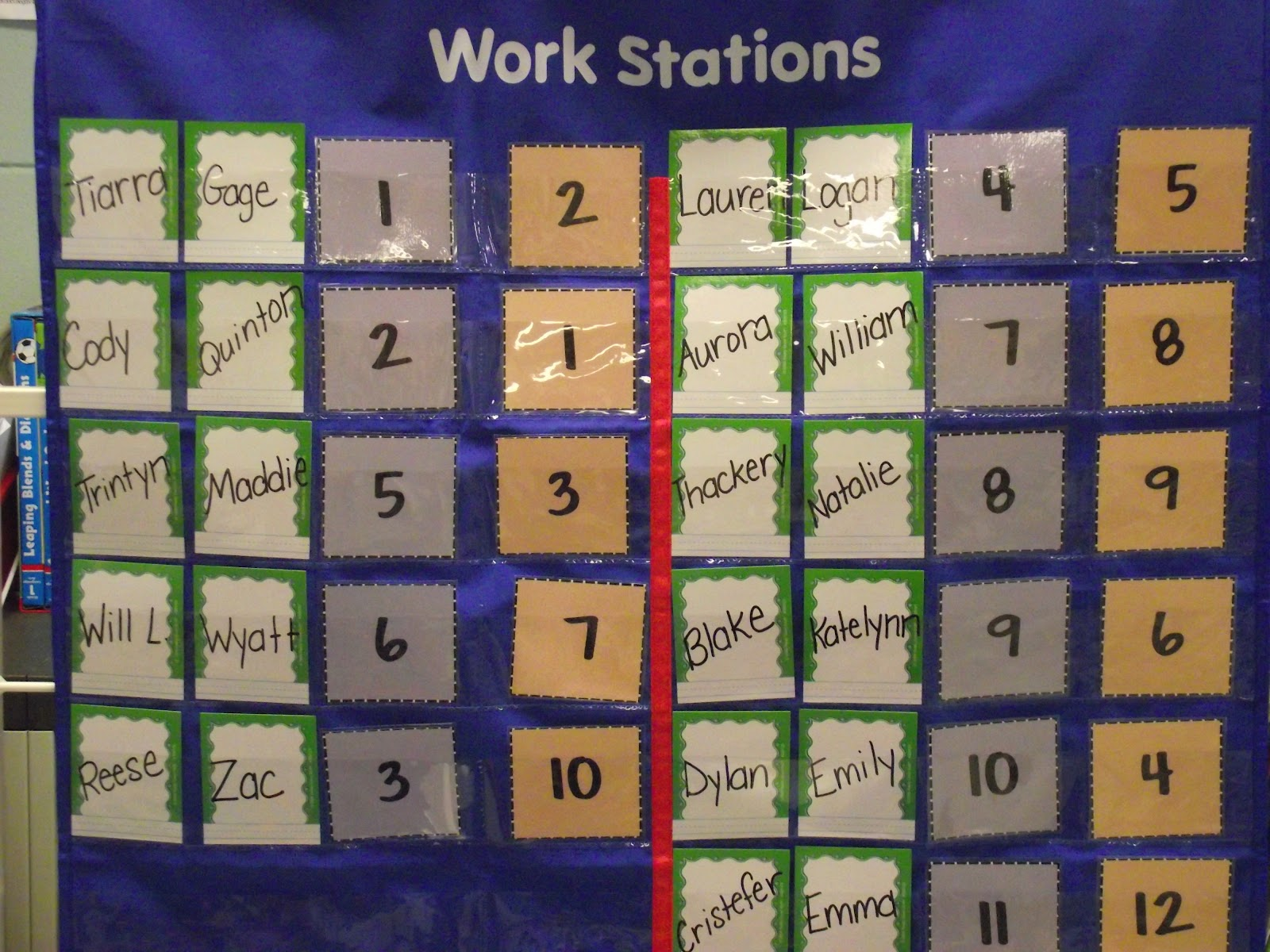 First Grade O W L S Math Stations And Math Cards Freebie