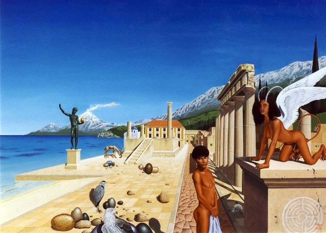 Œdipe et le sphinx, désir