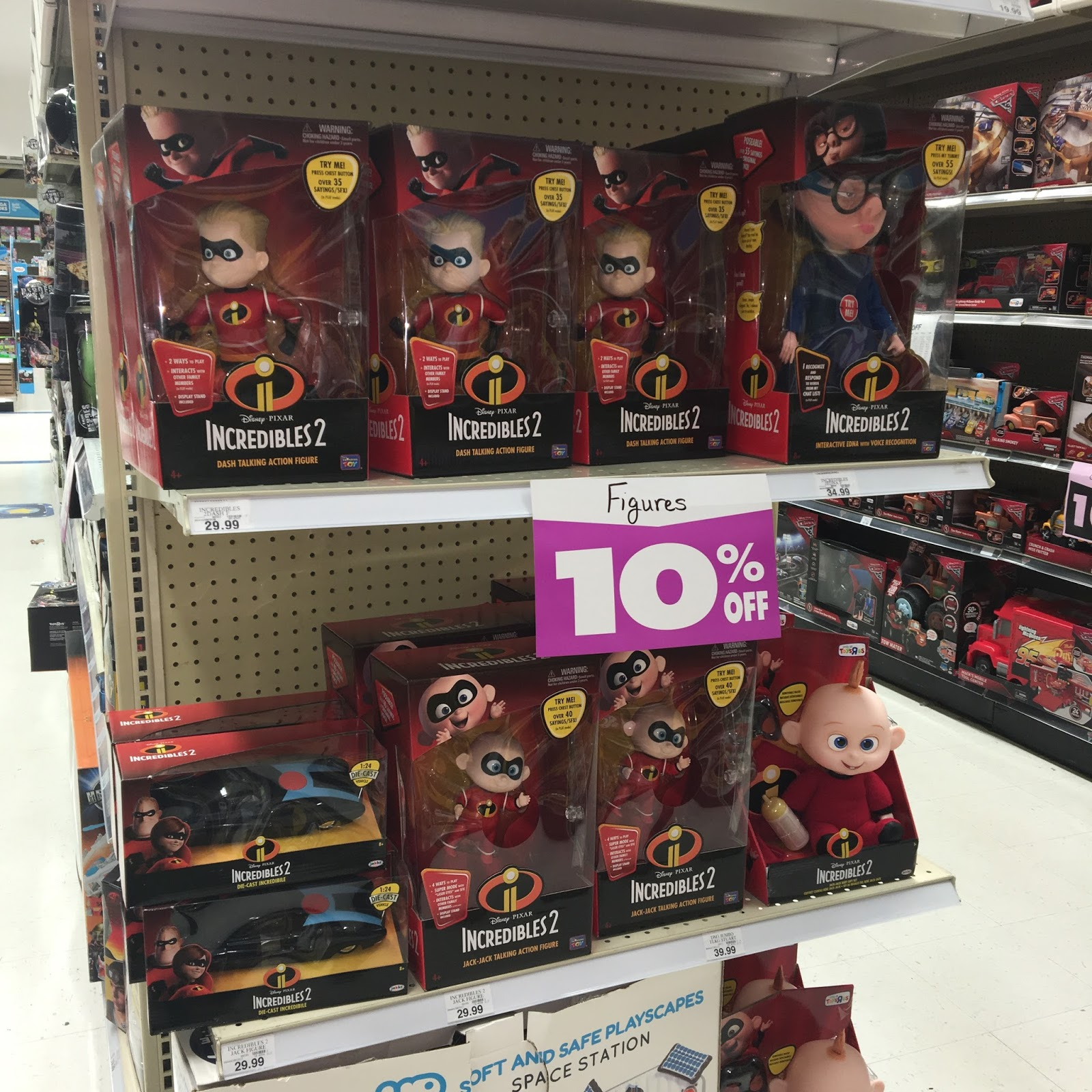 toys r us pixar incredibles 2 toys