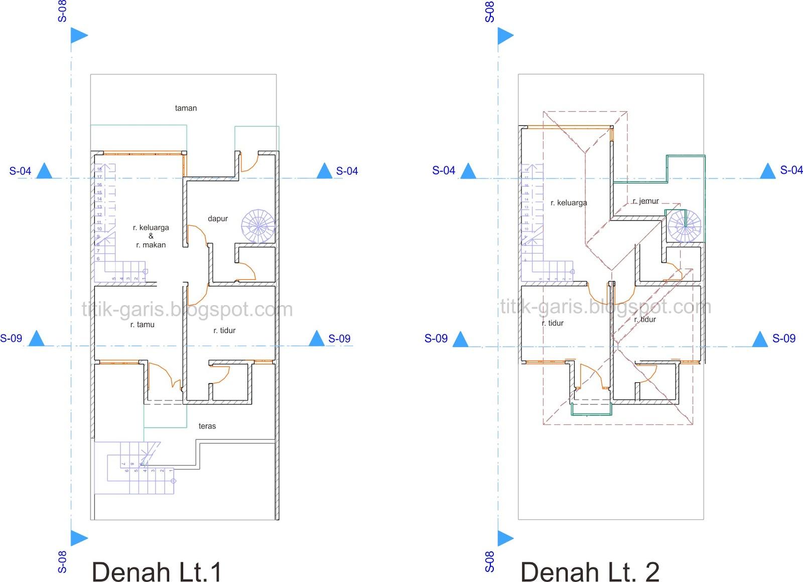 Rumah Minimalis Kolam Renang Terbaru Denah Rumah Sederhana